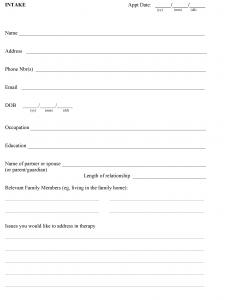 Intake Form